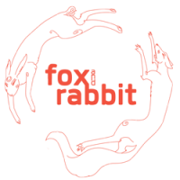 Fox and Rabbit Art